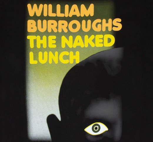 [Out of Print] William S. Burroughs / The Naked Lunch Tee 2 (Black)